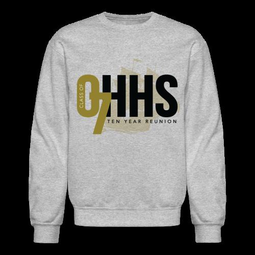 OHHS Clipper Gray - Crewneck - Crewneck Sweatshirt