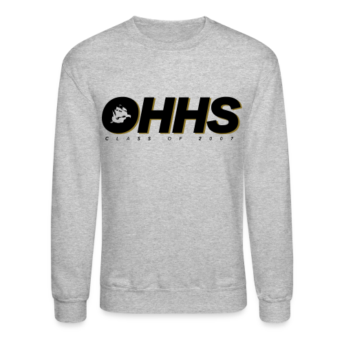 OHHS Block Gray - Crewneck - Crewneck Sweatshirt
