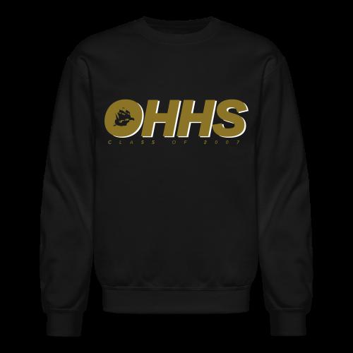 OHHS Block Black - Crewneck - Crewneck Sweatshirt