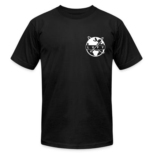 MENS LVFY - BLACK - Men's Fine Jersey T-Shirt