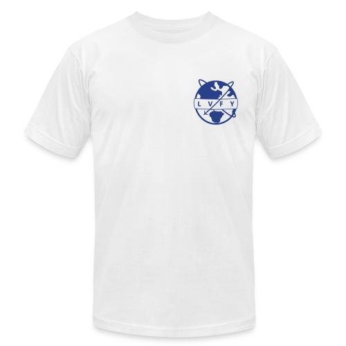 MENS LVFY - BLUE - Men's Fine Jersey T-Shirt