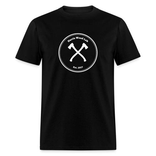 Harris Wood Lab - White Logo - Men's T-Shirt