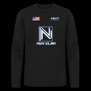 NyX Eczentric - Jersey Season 1 - Men's Long Sleeve T-Shirt by Next Level