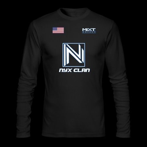 NyX Eczentric - Jersey Season 1 - Men's Long Sleeve T-Shirt by Next Level