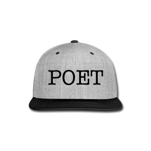 POET fitted cap - Snap-back Baseball Cap