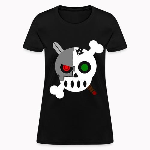 Cyborg Skull Normal W - Women's T-Shirt