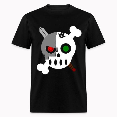 Cyborg Skull Normal - Men's T-Shirt