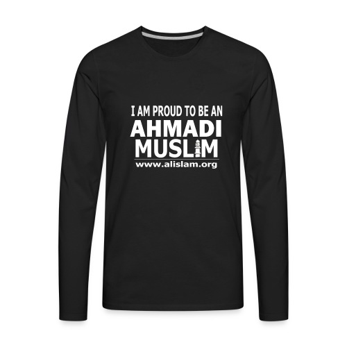 PROUD AHMADI - FULL SLEEVES  - Men's Premium Long Sleeve T-Shirt