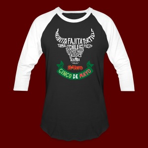 Cinco De Mayo 2017 Men's Baseball Tee - Baseball T-Shirt