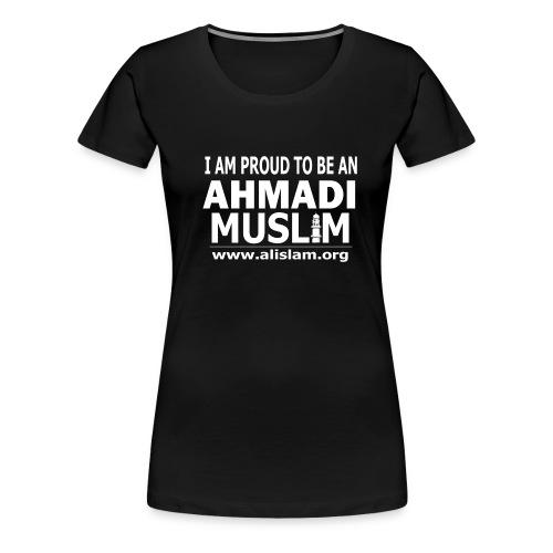 PROUD AHMADI - WOMEN HALF SLEEVES LENGTHY - Women's Premium T-Shirt
