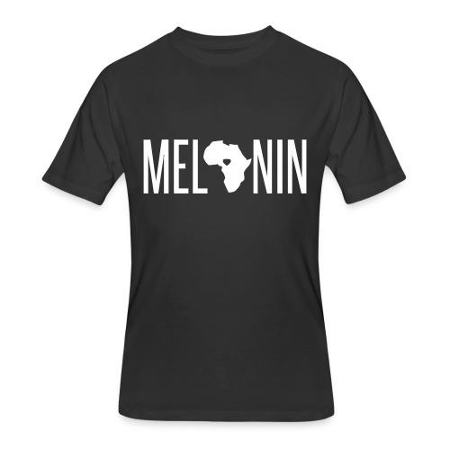 Melanin Africa  - Men's 50/50 T-Shirt