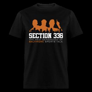 Section 336 Orange Logo - Men's T-Shirt