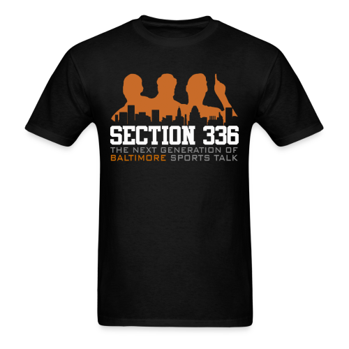Section 336 Orange Logo - Men's T-Shirt