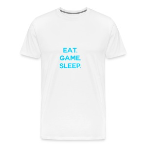 Eat.Game.Sleep T-Shirt - Men's Premium T-Shirt