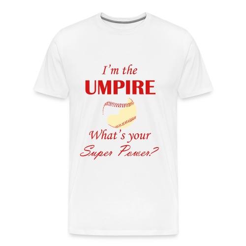 Umpire Super Power - white/cream - Men's Premium T-Shirt