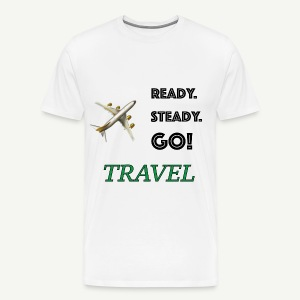 ready to travel tee - Men's Premium T-Shirt