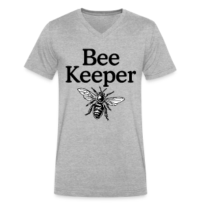 Beekeeper V-Neck T-Shirt - Men's V-Neck T-Shirt by Canvas