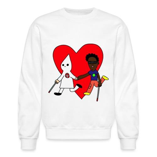 BLINDLOVE (SWEATSHIRT) - Crewneck Sweatshirt