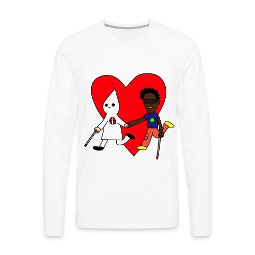 BLINDLOVE (LONGSLEEVE) - Men's Premium Long Sleeve T-Shirt