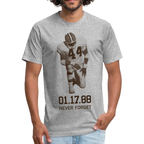 The Fumble Vintage Tee - Fitted Cotton/Poly T-Shirt by Next Level