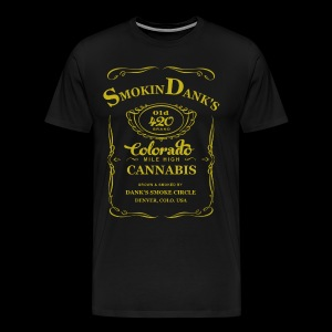 Dank Old 420 Gold Tee - Men's Premium T-Shirt