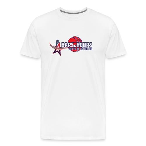 Bars & Hoops Men's Superstat - Men's Premium T-Shirt