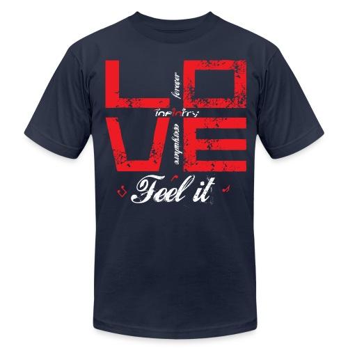 Love - Feel It - Men's  Jersey T-Shirt