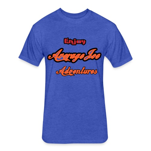 Enjoy Average Joe Adventures sport shirt - Fitted Cotton/Poly T-Shirt by Next Level