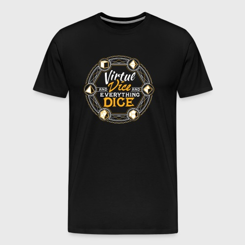 Virtue and Vice D&D Fantasy RPG design - Men's Premium T-Shirt