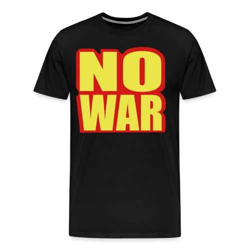 no war - Men's Premium T-Shirt