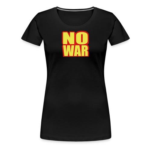no war - Women's Premium T-Shirt