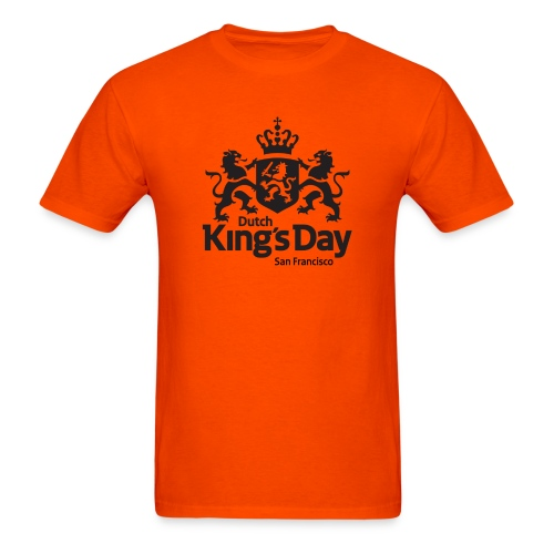 T-Shirt Dutch King's Day San Francisco - Men's T-Shirt
