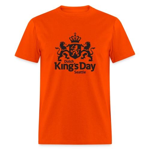 T-shirt Dutch King's Day Seattle - Men's T-Shirt