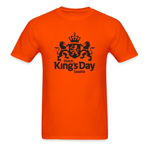 T-shirt Dutch King's Day Seattle - Men's T-Shirt