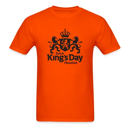 T-shirt Dutch King's Day Houston - Men's T-Shirt