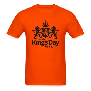 T-Shirt Dutch King's Day USA - Men's T-Shirt