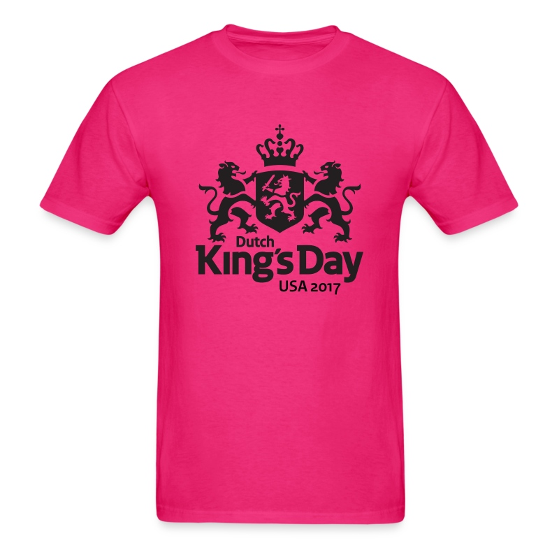 T-Shirt Dutch King's Day USA T-Shirt | HollandShirts by Dutch-Day