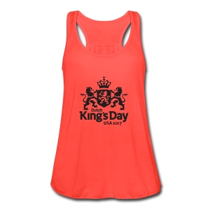 Dutch King's Day USA - Woman Tank Top - Women's Flowy Tank Top by Bella