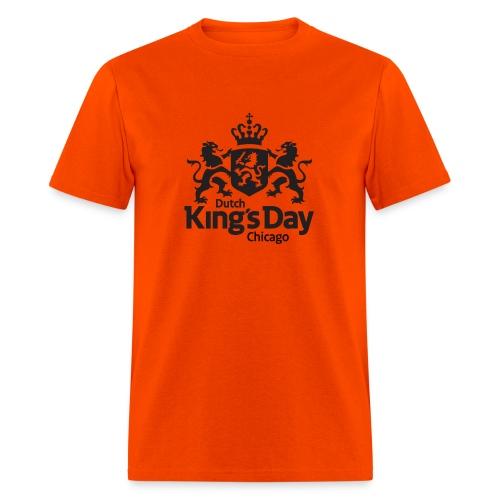 T-Shirt Dutch King's Day Chicago - Men's T-Shirt