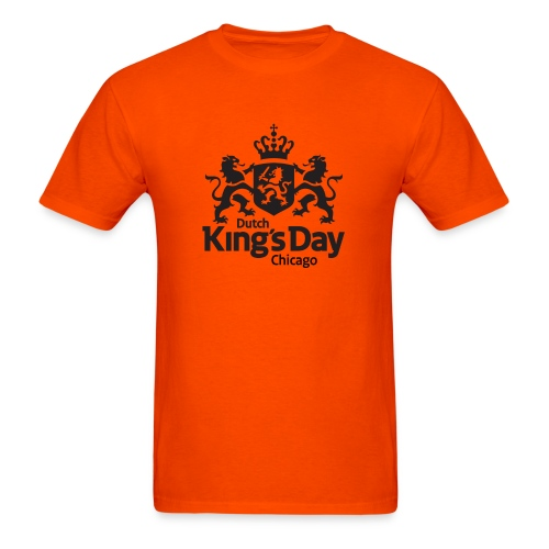 T-Shirt Dutch King's Day Chicago - Men's T-Shirt