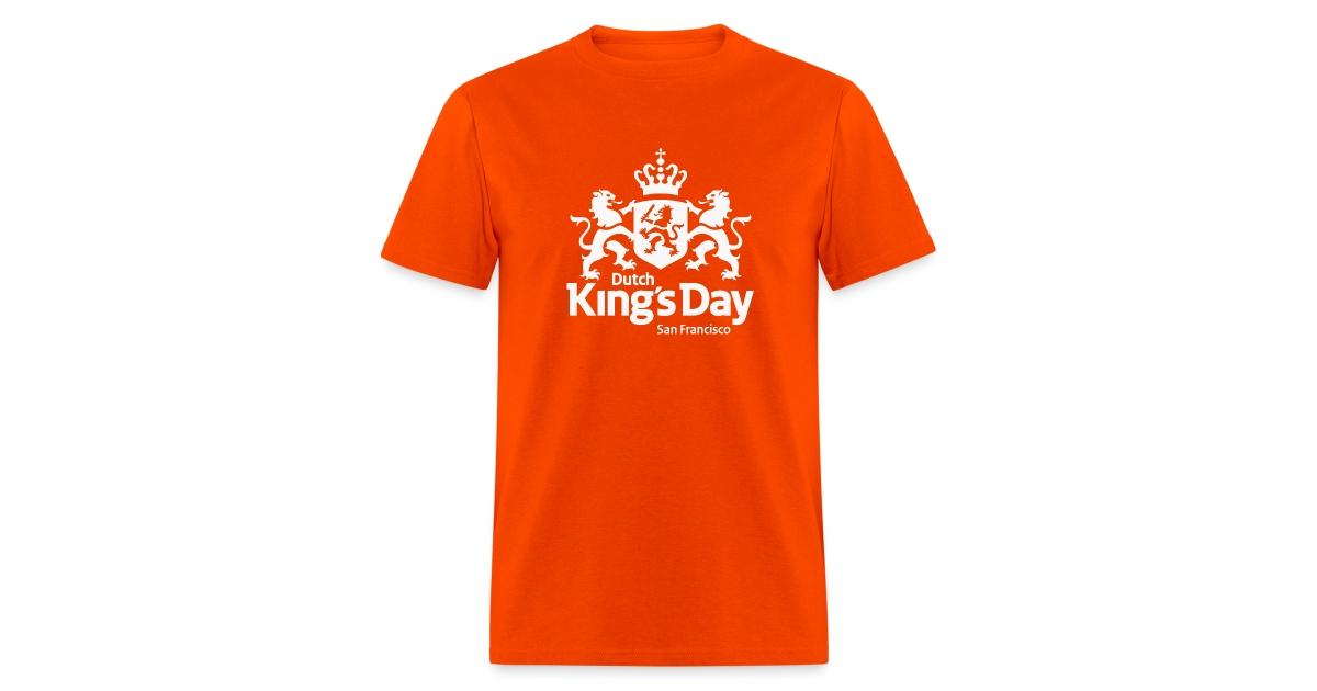 Hollandshirts by dutch day t shirt dutch kings day san for Bespoke shirts san francisco