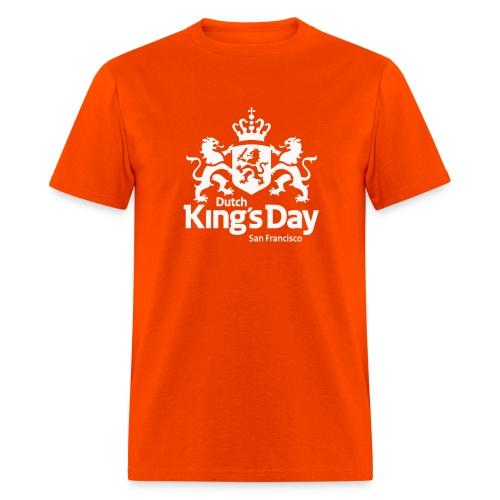 T-Shirt Dutch King's Day San Francisco - White Logo - Men's T-Shirt