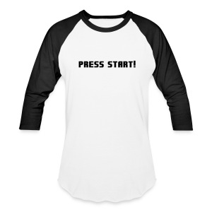 Press Start! T-Shirts - Baseball T-Shirt