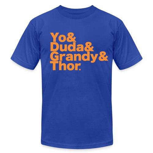 Men's NY Mets Shirt - Men's Fine Jersey T-Shirt