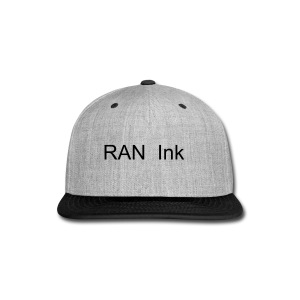 RAN Ink Blue Snap Back - Snap-back Baseball Cap