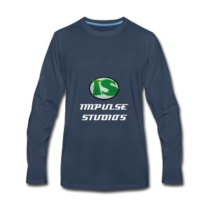 Impulse Studios Long Sleeve T-Shirt - Men's Premium Long Sleeve T-Shirt
