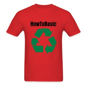 Men's T-Shirt - merchandise,YouTube,HowToBasic,How to Basic