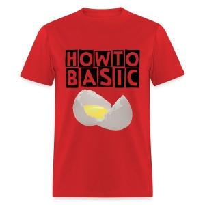 Men's T-Shirt - merchandise,YouTube,HowToBasic,How to Basic