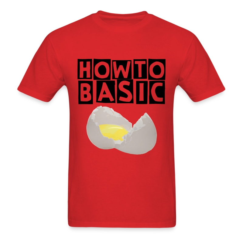 Men's T-Shirt - How to Basic,HowToBasic,YouTube,merchandise