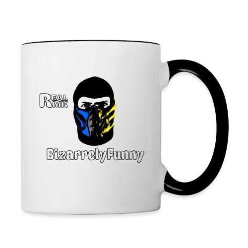 BizarrelyFunny Mug - Contrast Coffee Mug
